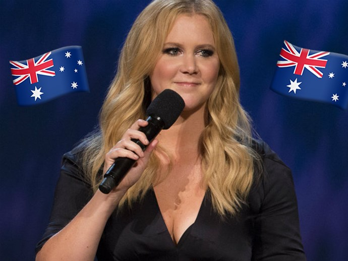 UPDATE: Amy Schumer promises Australians that she'll be back