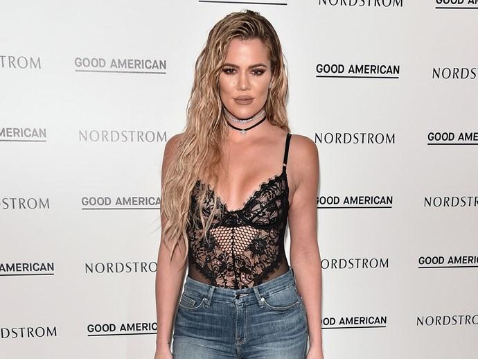 Khloe Kardashian Denim
