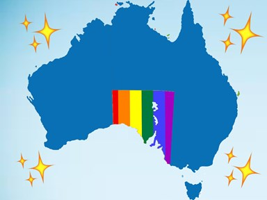 BACK IN THE GAME! South Australia have passed a bill to officially recognise same-sex marriages