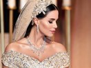 This bride designed the glittery wedding dress of her (read: your) DREAMS