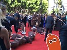We spoke with the 'sausage party' that crashed the AACTV red carpet