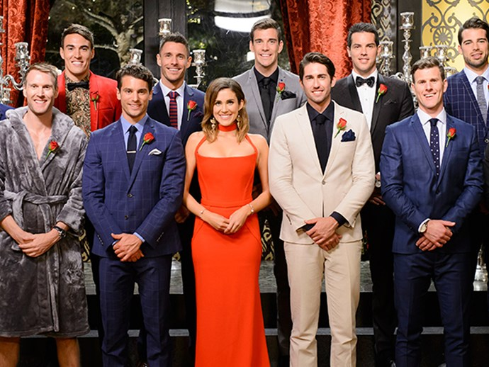 The Bachelorette's Sam Johnston has finally landed the presenting gig of his dreams