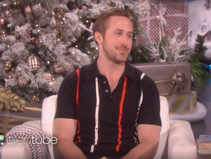 Ryan Gosling discusses his daughters on The Ellen Show