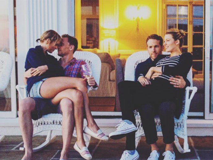 Ryan Reynolds discusses awkward photo with Taylor Swift