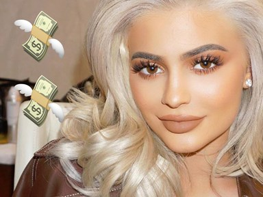 You'll spit out your coffee when you find out how much $ Kylie Jenner made off her merch in 2016
