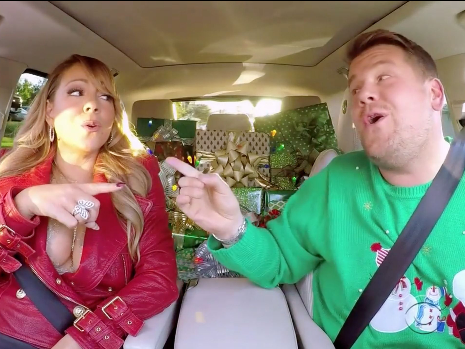 Mariah Carey's Christmas Carpool Karaoke Is The Perfect Send-Off To 2016