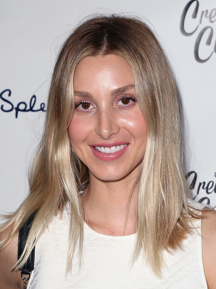 **ICY OMBRE**   If ever you needed a lesson in how to pull off cool blonde, look to Whitney Port.