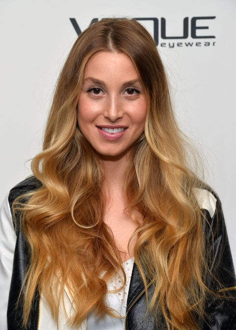 "**HONEY BLONDE BALAYAGE**   Whitney Port's dark honey lengths are SO pretty.    **Source:** [Cosmo UK](http://www.cosmopolitan.co.uk/beauty-hair/hair/g4814/blonde-hair-colours|target=""_blank""