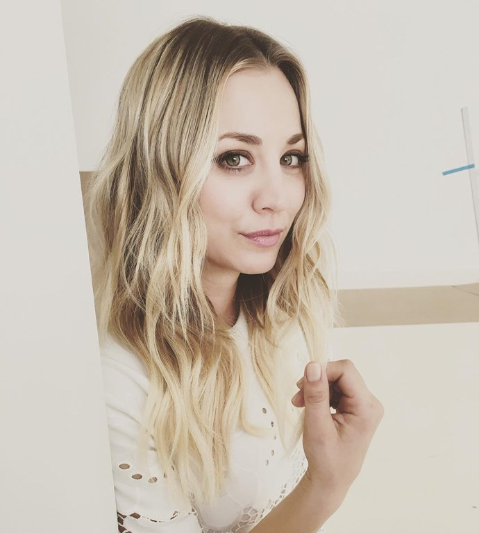 """Kaley Cuoco: The time she told [PopSugar](http://www.popsugar.com.au/beauty/Interview-Kaley-Cuoco-Where-She-Talks-About-Having-Acne-Using-Proactiv-Big-Bang-Theory-25369391