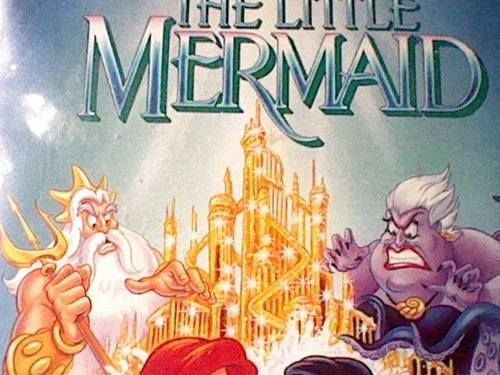 Those penis-obsessed folks also threw in a rather obvious shape into King Triton's castle.