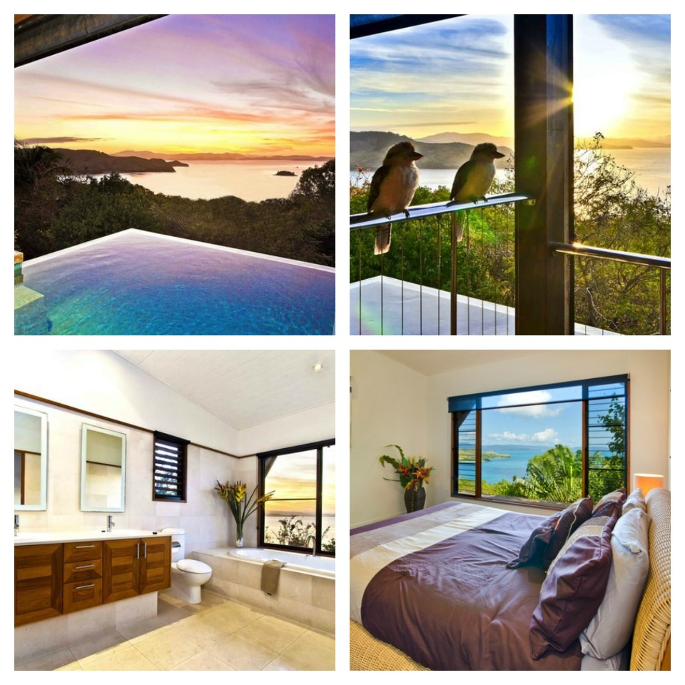 "[**Clear Water House Ocean Views Pool, QLD**](https://www.stayz.com.au/accommodation/qld/queensland-islands/hamilton-island/106578|target=""_blank""