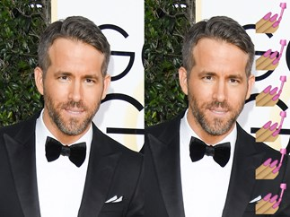 Ryan Reynolds used $1100 worth of skincare products to get ready for the Golden Globes