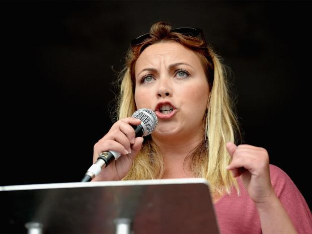 """Charlotte Church's opinion on Trump? """"You're a tyrant."""""""