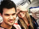 Taylor Lautner and Carrie Fisher's daughter, Billie Lourd, Instagrams are actual #FriendshipGoals
