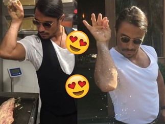 Meet #SaltBae, the chef bringing women everywhere to orgasm just by seasoning his meats
