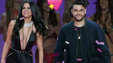 Selena Gomez and The Weeknd's cute moment you probs missed at the 2015 VS Show