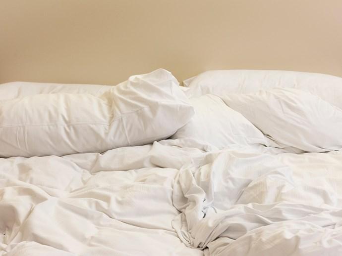 sheets, pillow