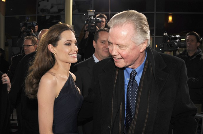 Angelina Jolie's dad Jon Voight is a vocal Trump supporter will be attending the ceremony.