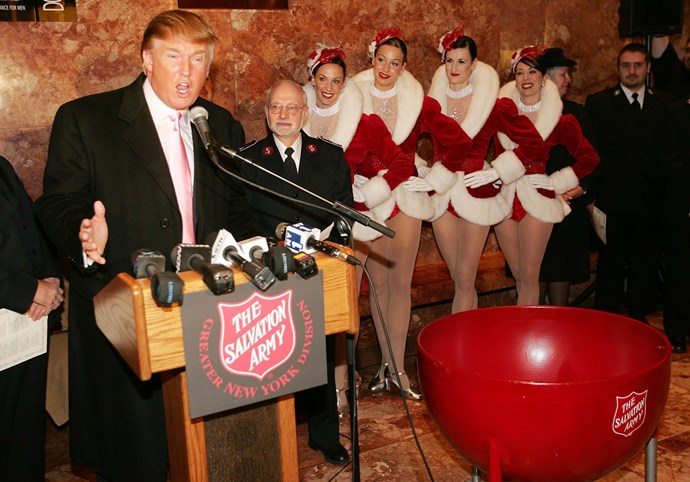 The Radio City Rockettes will also be performing at Trump's party.