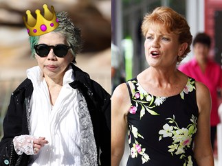Lee Lin Chin and Pauline Hanson.
