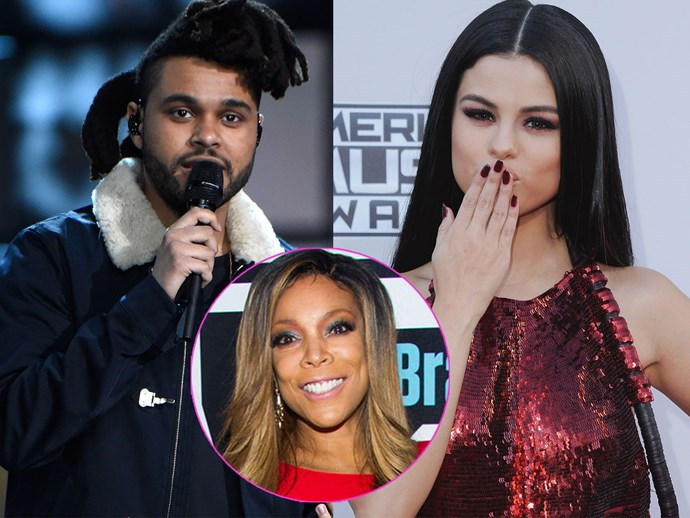 Wendy Williams calls out Selena Gomez and The Weeknd