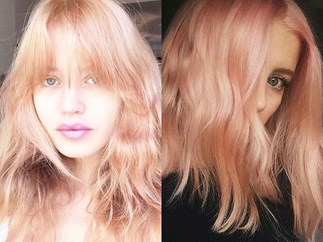 Introducing 'blorange': the hair colour that's about to fill up your Insta feed