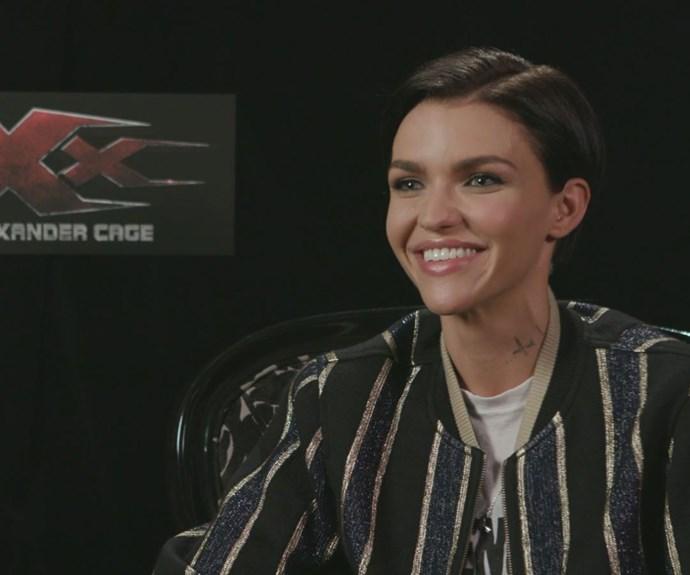 Ruby Rose talks about pranking Nina Dobrev on the XXX: The Return of Xander Cage set
