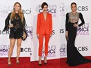 All the fiercest red carpet looks from the 2017 People's Choice Awards