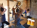Would you like to sink beers and do yoga AT THE SAME TIME?!