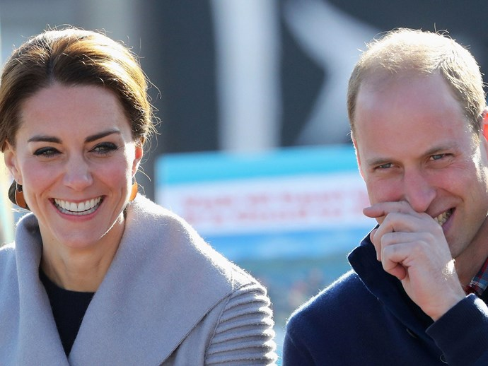 kate middleton joke about prince william