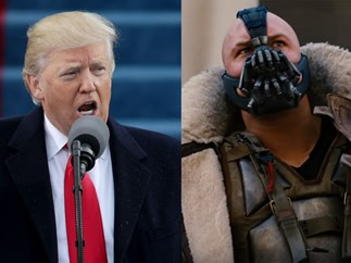 Donald Trump might have quoted Batman villain Bane in his inauguration speech