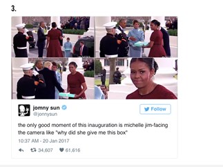 10 of the funniest tweets about Donald Trump's inauguration