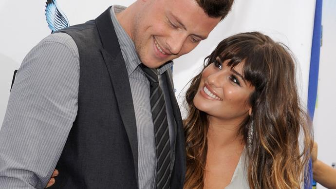 Lea Michele shares throwback photo of Cory Monteith