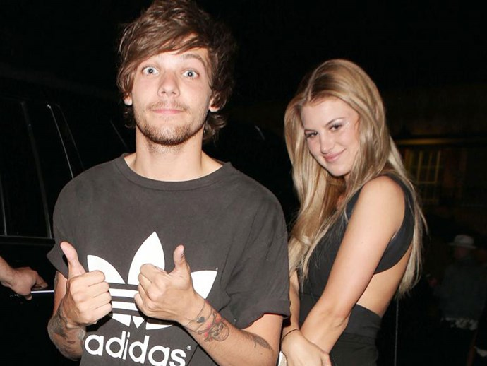 Louis Tomlinson and Briana Jungwirth have reunited