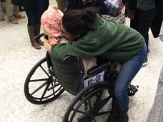 Trump airport detainees