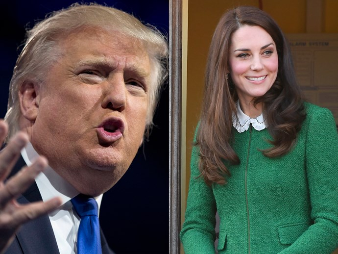 This inappropriate Donald Trump tweet about Kate Middleton is haunting him