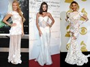 All the times celebs trolled us in wedding-worthy dresses