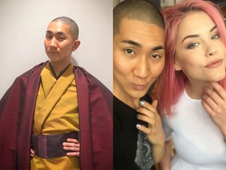 Meet the Buddhist monk who's also a celebrity makeup artist