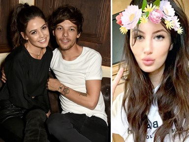 Louis Tomlinson and Danielle Campbell actually broke up because of Briana Jungwirth