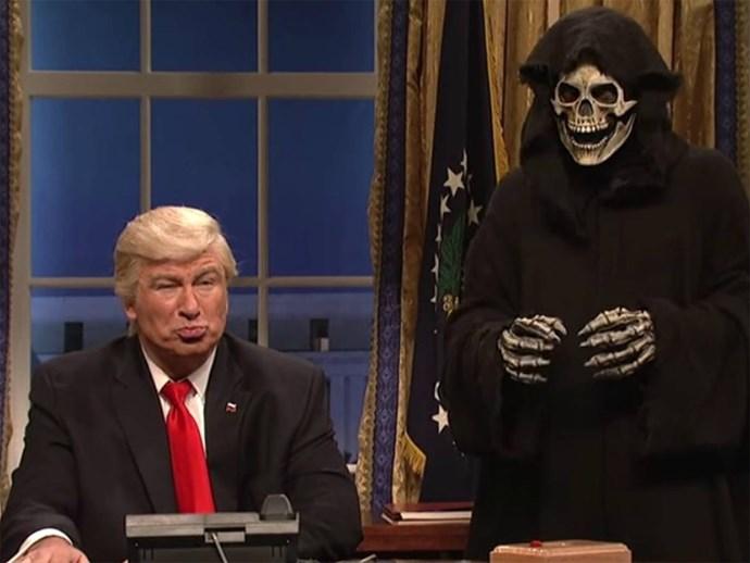 Alec Baldwin on Saturday Night Live.