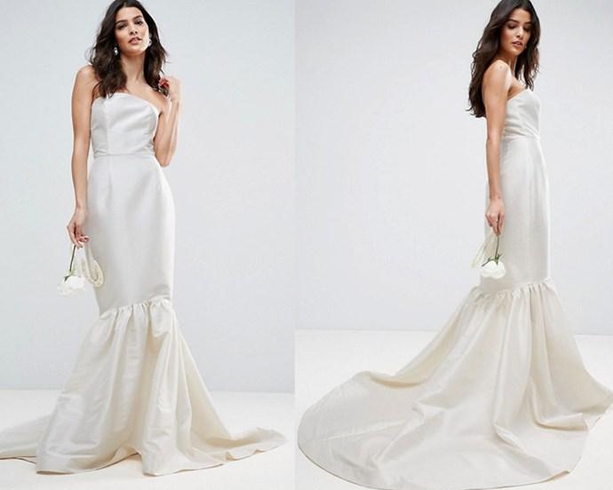 """Dress, $391 at [ASOS](http://rstyle.me/n/cemquavs36 target=""""_blank"""" rel=""""nofollow"""")."""