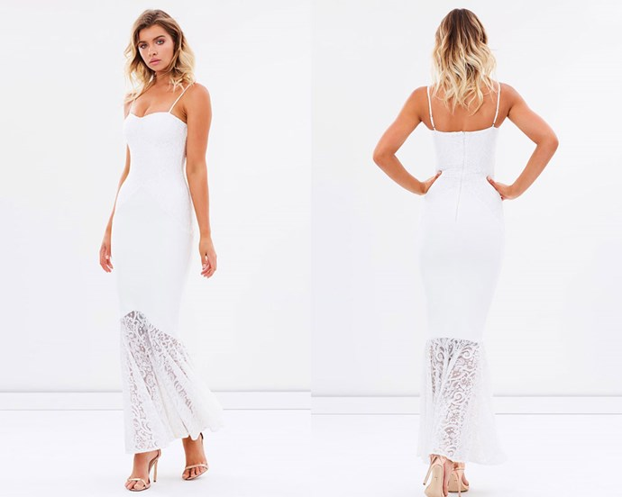 """Dress, $148, Miss Holly at [The Iconic](http://rstyle.me/n/cemr25vs36 target=""""_blank"""" rel=""""nofollow"""")."""