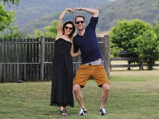 Zoe Foster Blake and Hamish Blake