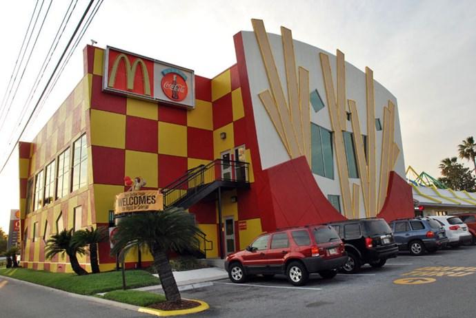 McDonald's in Orlando, Florida, is McLIT, fam.