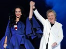 Katy Perry has designed a shoe inspired by Hillary Clinton