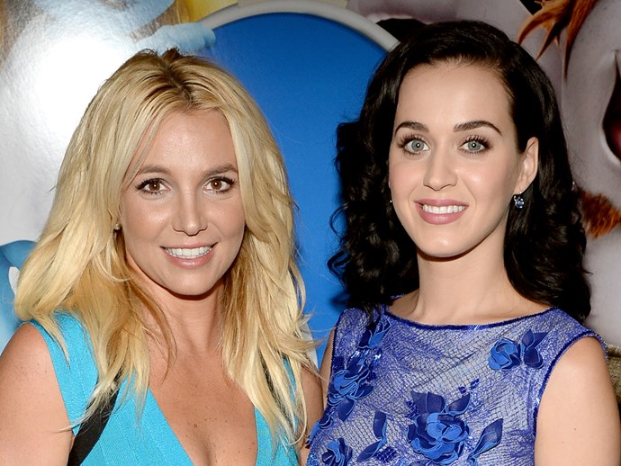 Everyone seems to think Britney Spears shaded Katy Perry with this tweet