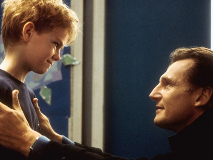 Liam Neeson and the Love Actually kid have reunited