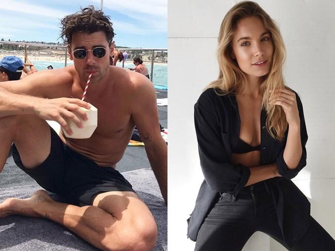 Matty J dated Nathalie Darcas