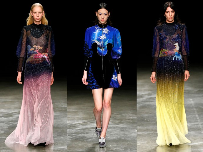 Mary Katrantzou LFW Disney
