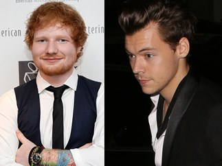 Ed Sheeran reveals details about Harry Styles new music
